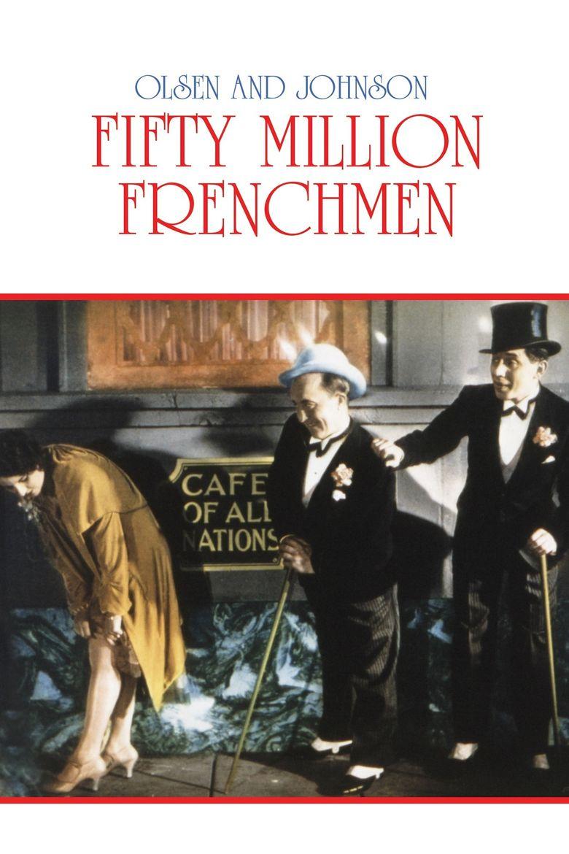 50 Million Frenchmen Poster