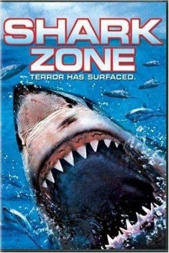 Shark Zone Poster