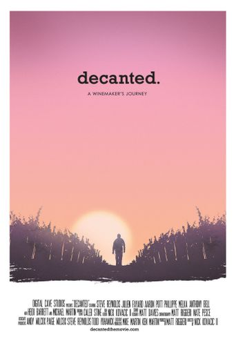 Decanted. Poster