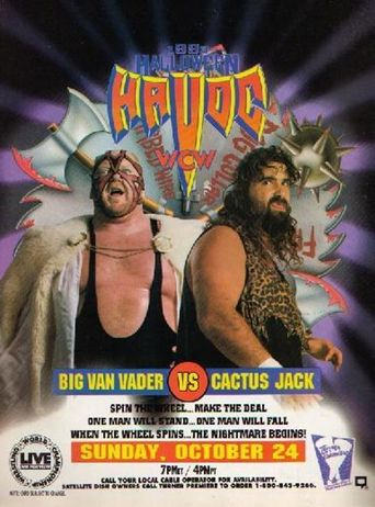 WCW Halloween Havoc 1993 Poster