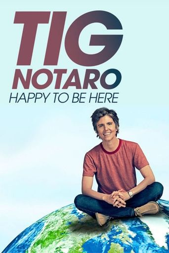 Tig Notaro: Happy To Be Here Poster