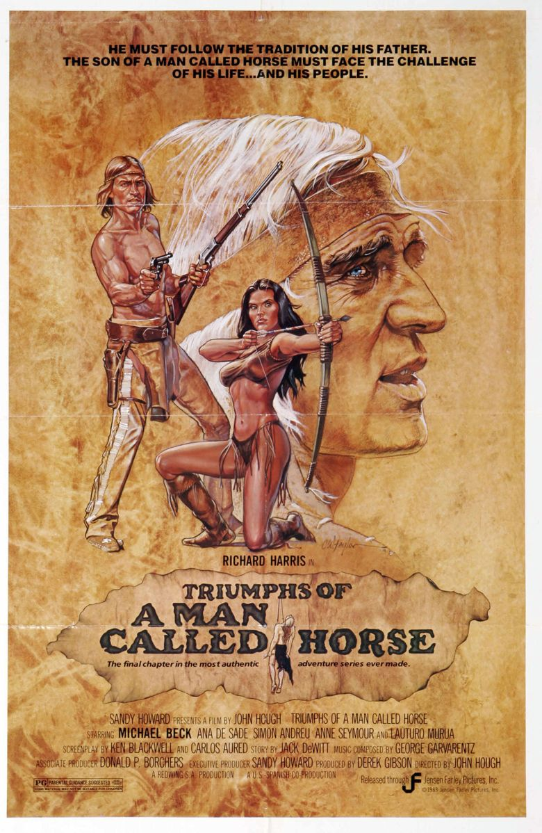 Triumphs of a Man Called Horse Poster