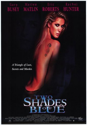 Two Shades of Blue Poster