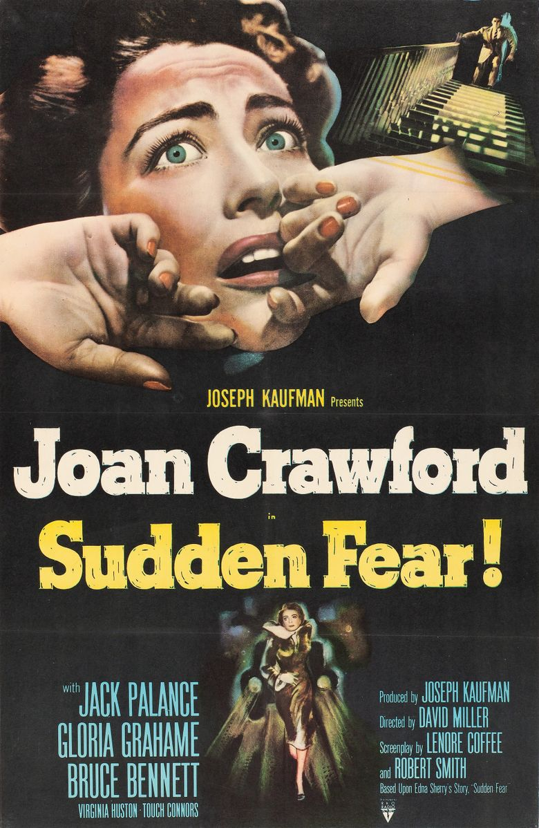 Sudden Fear Poster