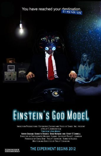 Einstein's God Model Poster
