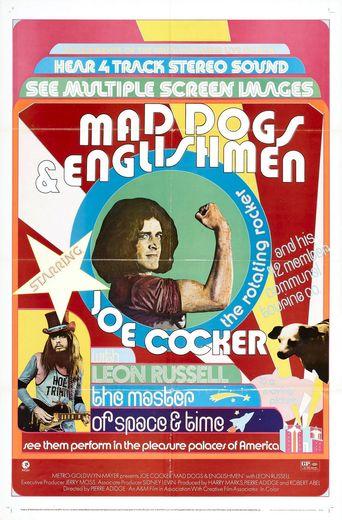 Joe Cocker - Mad Dogs & Englishmen Poster