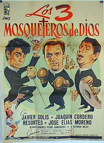 Los tres mosqueteros de Dios Poster