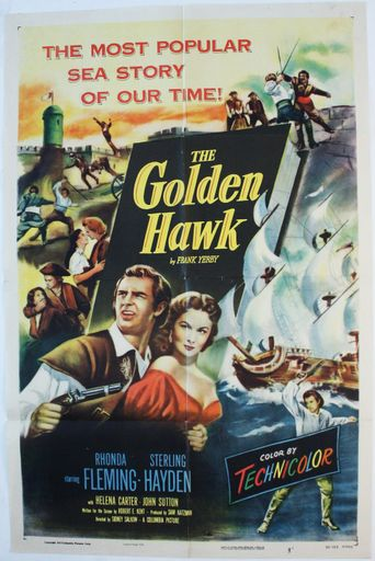 The Golden Hawk Poster