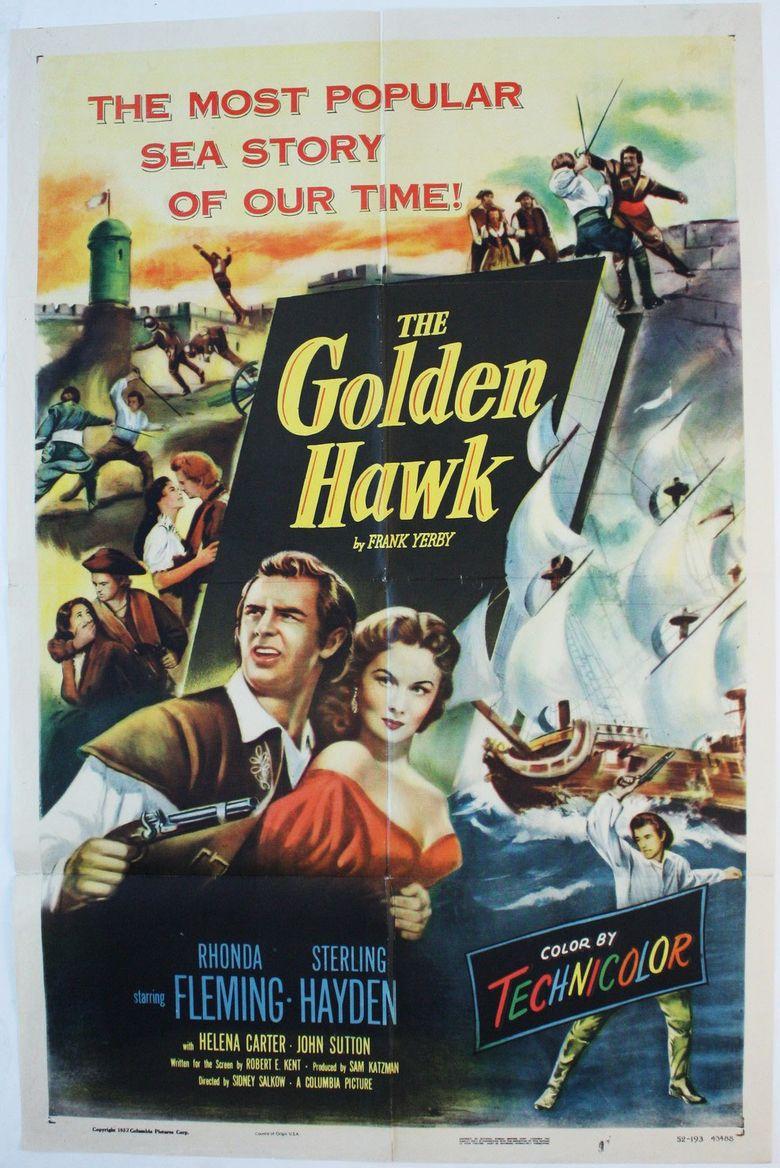 The Golden Hawk Poster