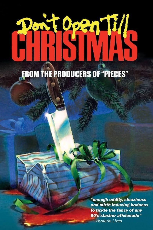 Don't Open Till Christmas Poster