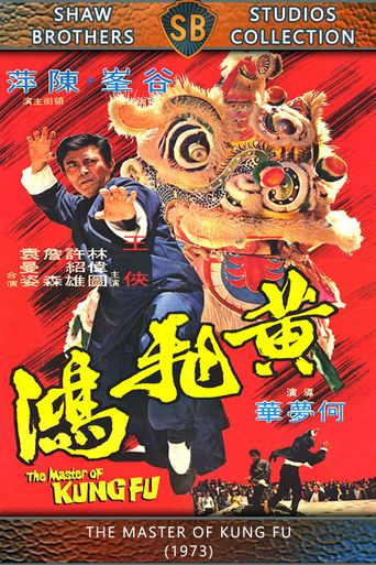 The Master of Kung Fu Poster