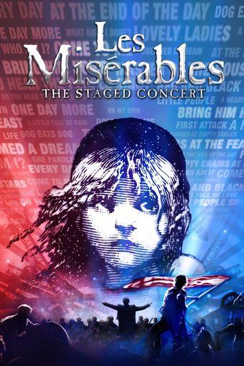 Les Misérables: The Staged Concert Poster