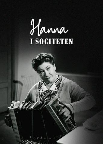 Hanna i societén Poster