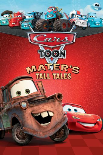 Cars Toon Mater's Tall Tales Poster