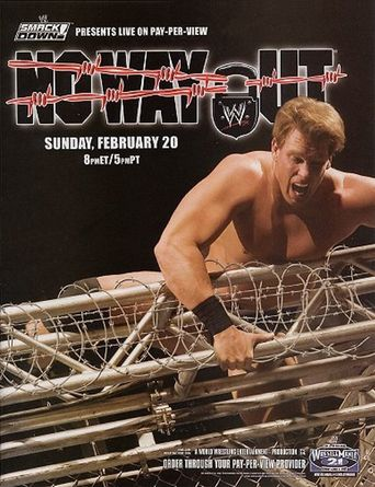 WWE No Way Out 2005 Poster