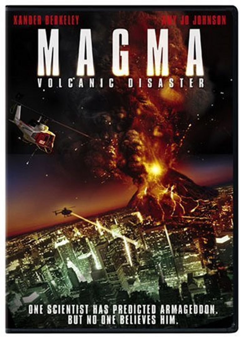 Magma: Volcanic Disaster Poster