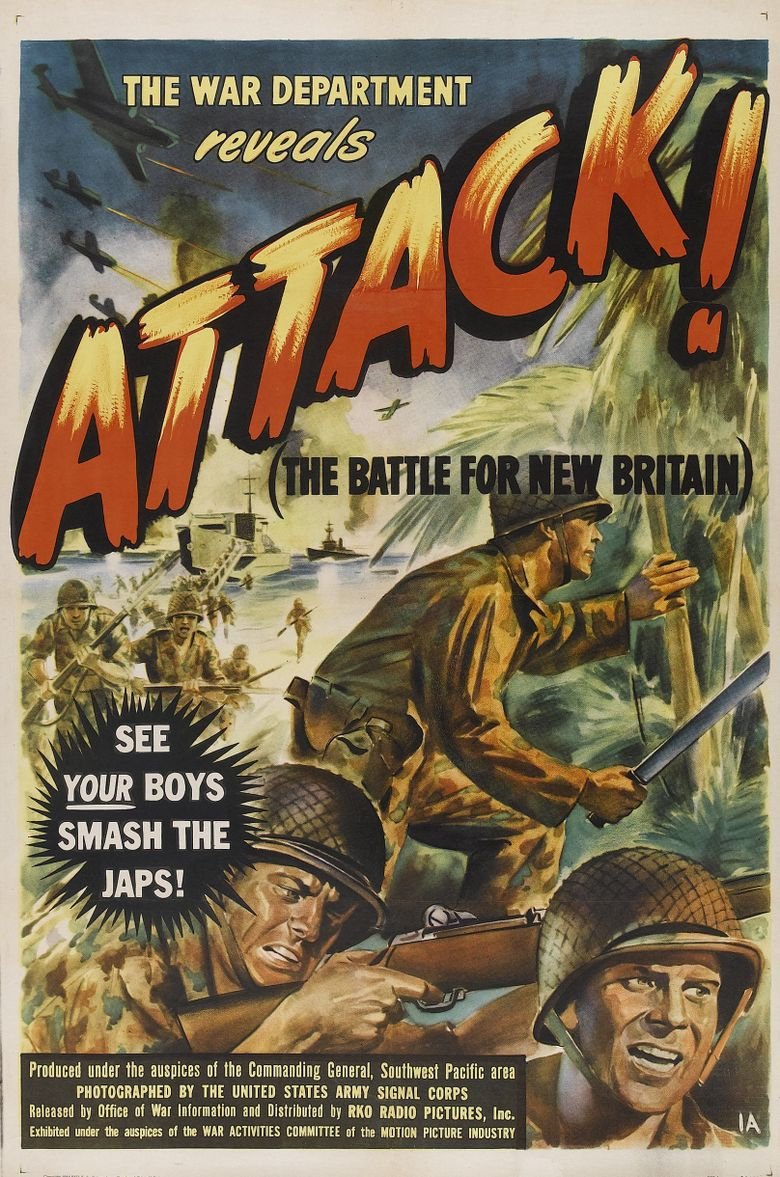 Attack: The Battle for New Britain Poster