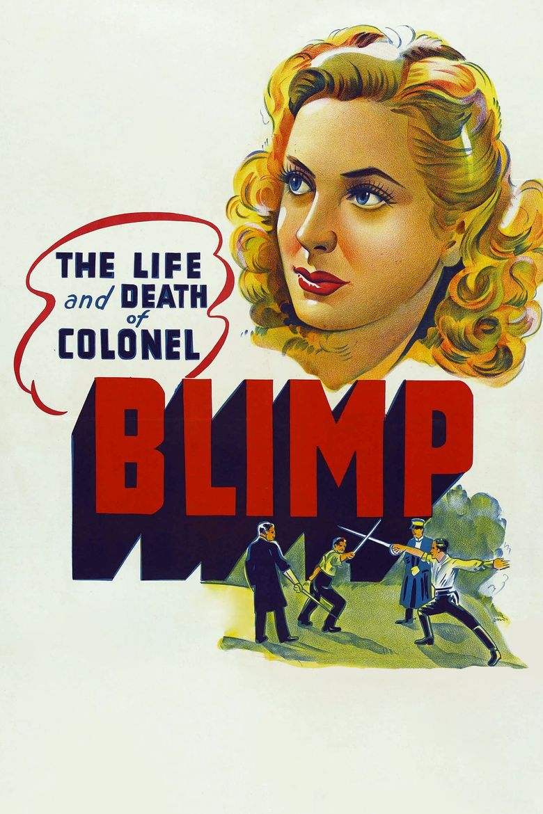 The Life and Death of Colonel Blimp Poster
