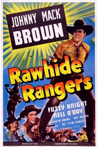 Rawhide Rangers Poster