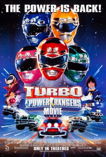 Watch Turbo: A Power Rangers Movie