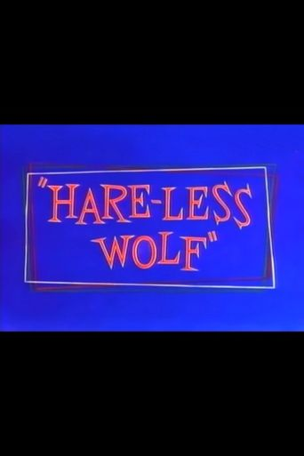 Hare-Less Wolf Poster