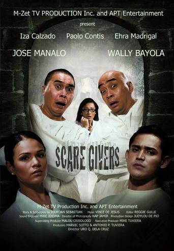 Scaregivers Poster