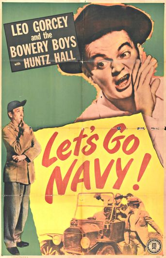 Let's Go Navy! Poster