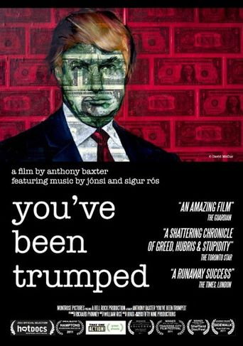 You've Been Trumped Poster