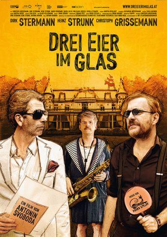 Drei Eier im Glas Poster