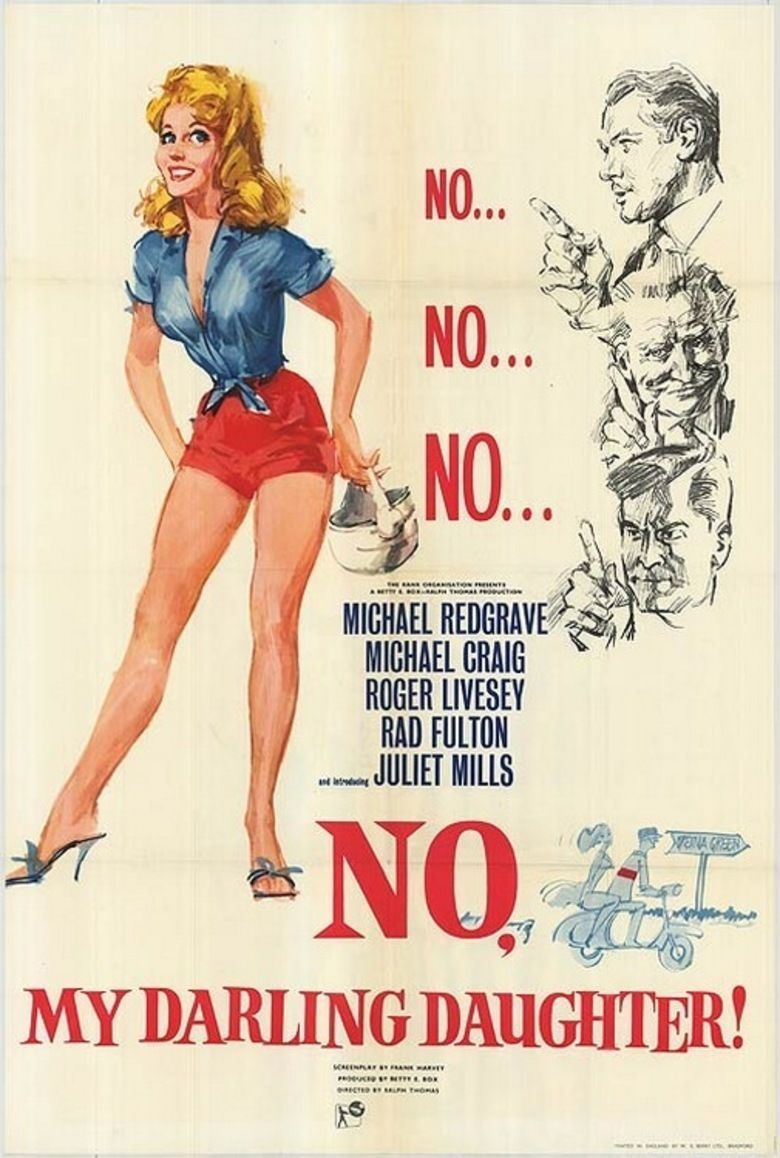 No, My Darling Daughter Poster