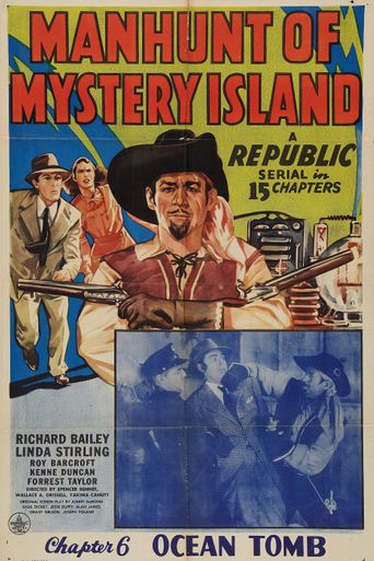 Manhunt of Mystery Island Poster