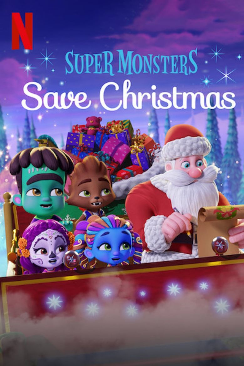 Super Monsters Save Christmas Poster