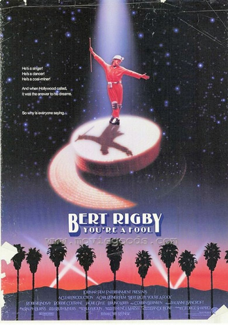 Bert Rigby, You're a Fool Poster