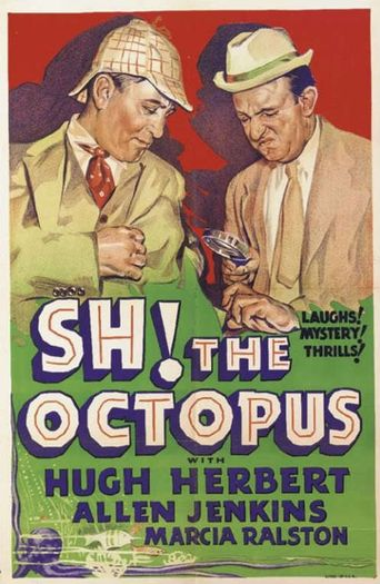 Sh! The Octopus Poster