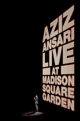 Aziz Ansari: Live at Madison Square Garden Poster