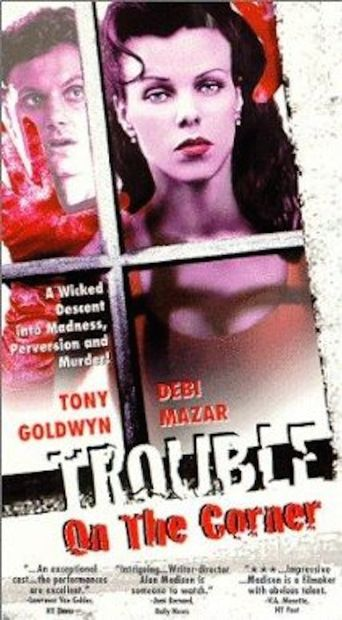 Trouble on the Corner Poster