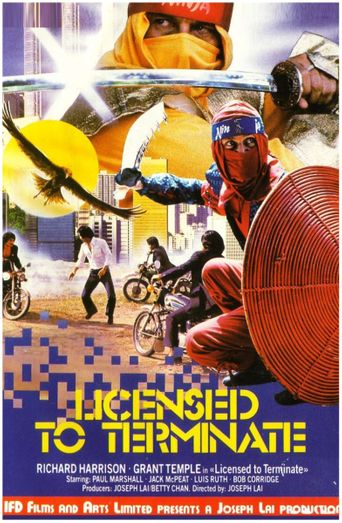 Ninja Operation: Licensed to Terminate Poster