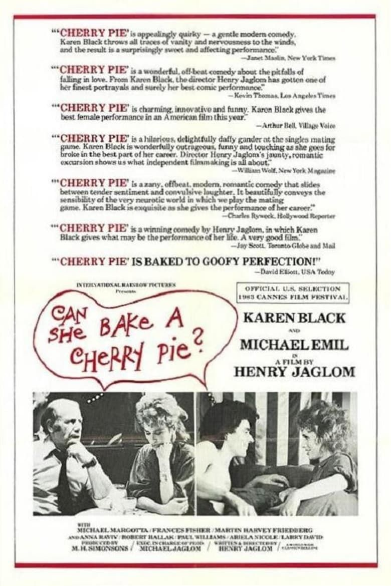 Can She Bake A Cherry Pie? Poster