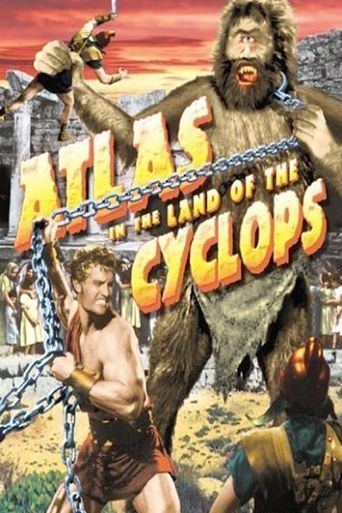 Atlas in the Land of the Cyclops Poster