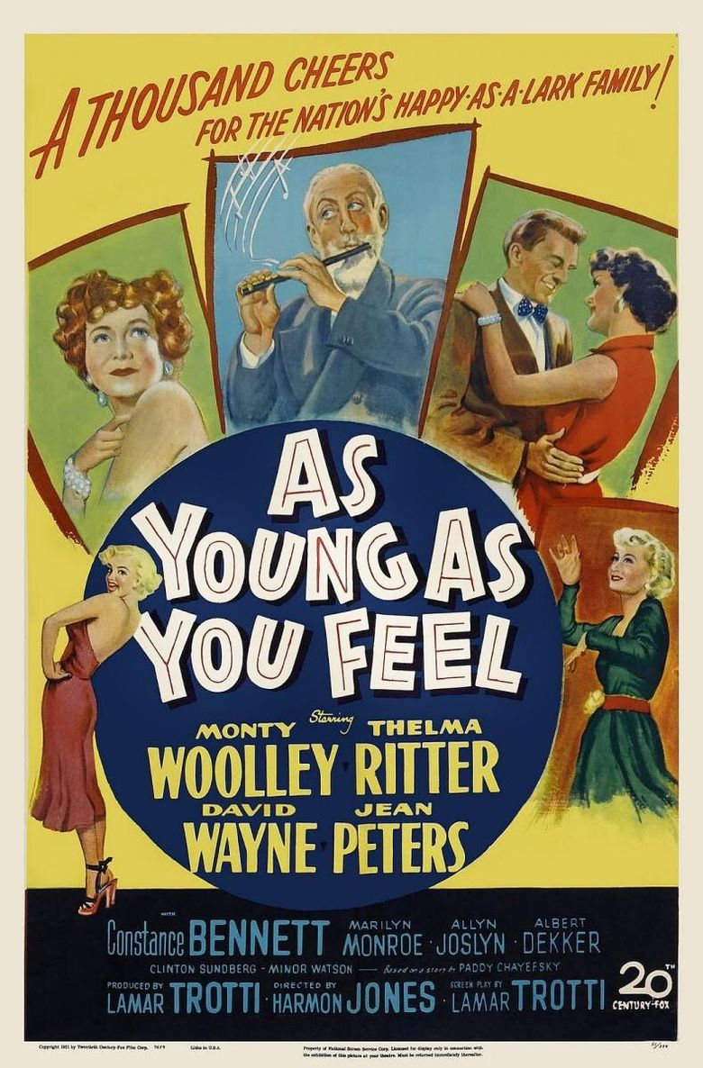 As Young as You Feel Poster