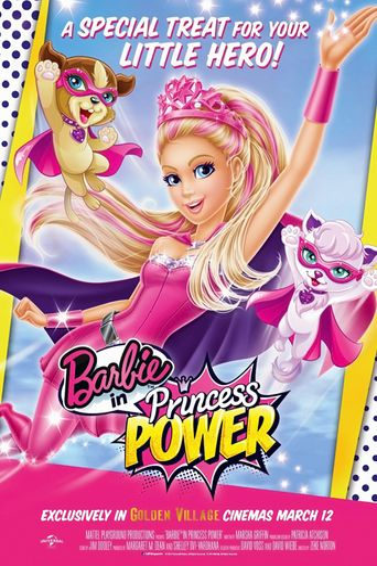 Barbie in Princess Power Poster