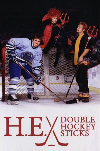 H.E. Double Hockey Sticks Poster