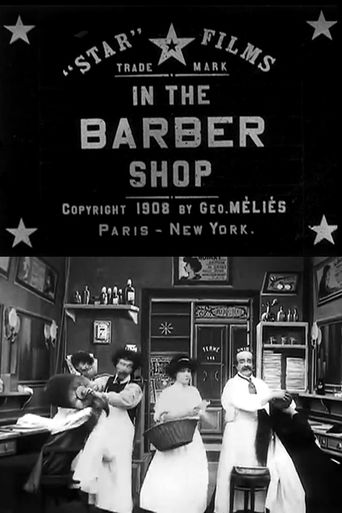 In the Barber Shop Poster