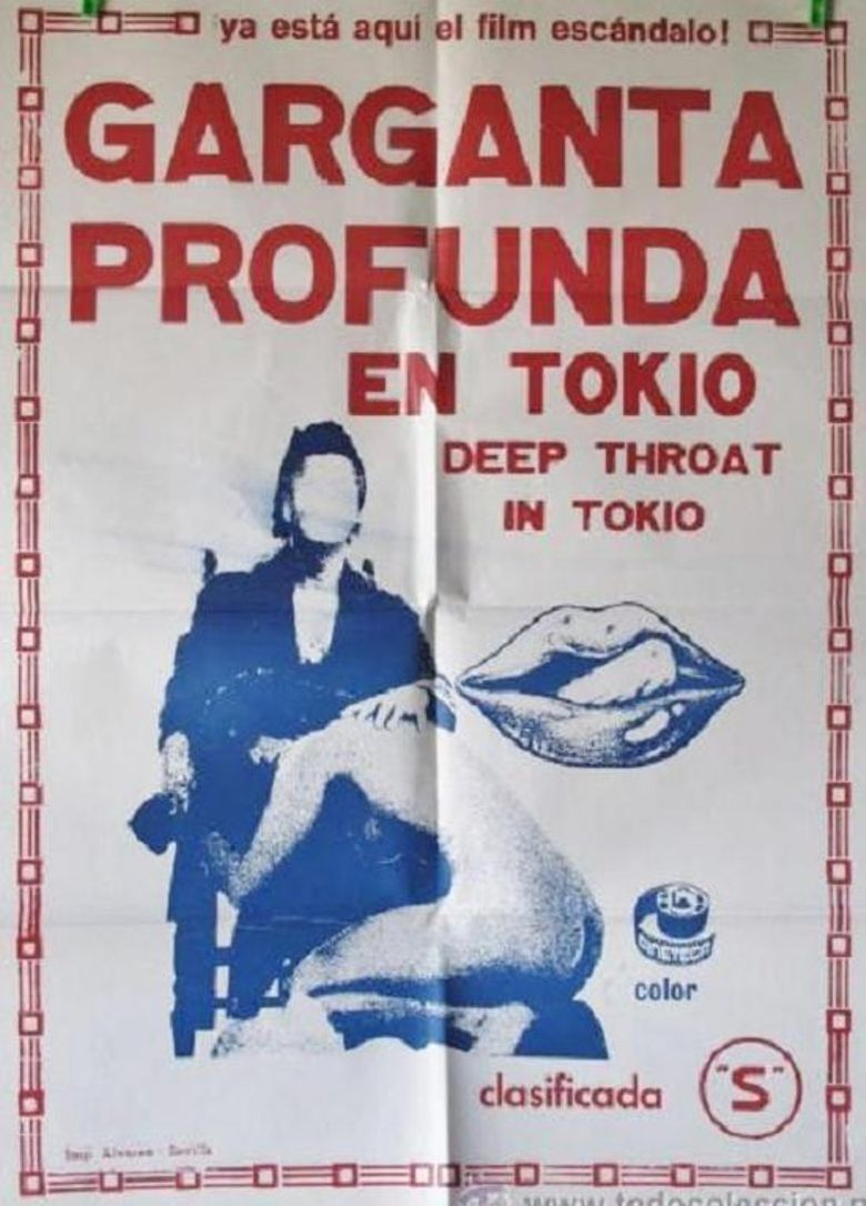 Deep Throat in Tokyo Poster