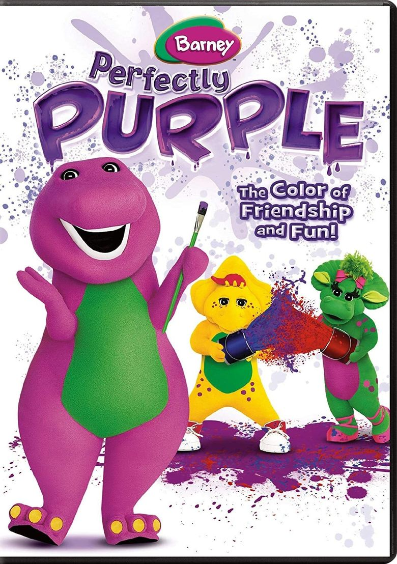 Barney: Perfectly Purple Poster