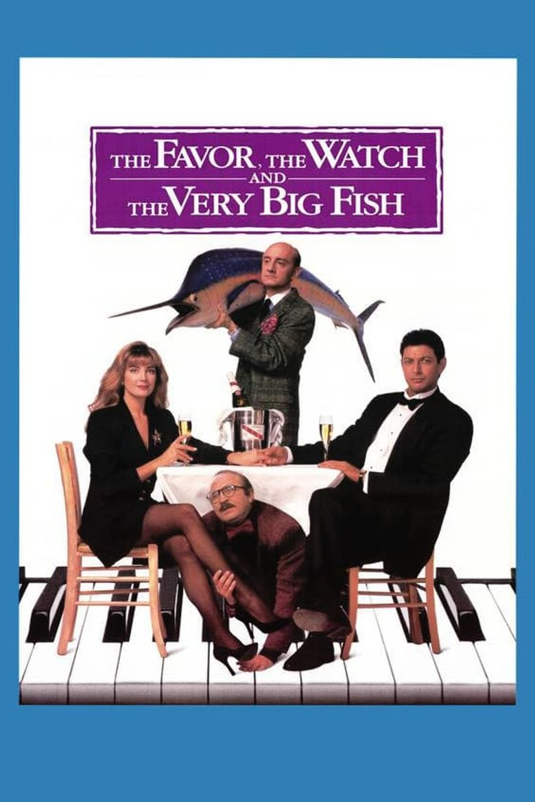 The Favour, the Watch and the Very Big Fish Poster