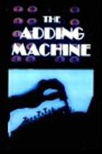 The Adding Machine Poster