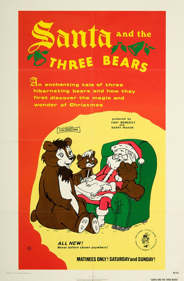 Santa and the Three Bears Poster