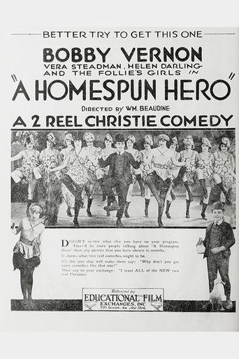 A Home Spun Hero Poster