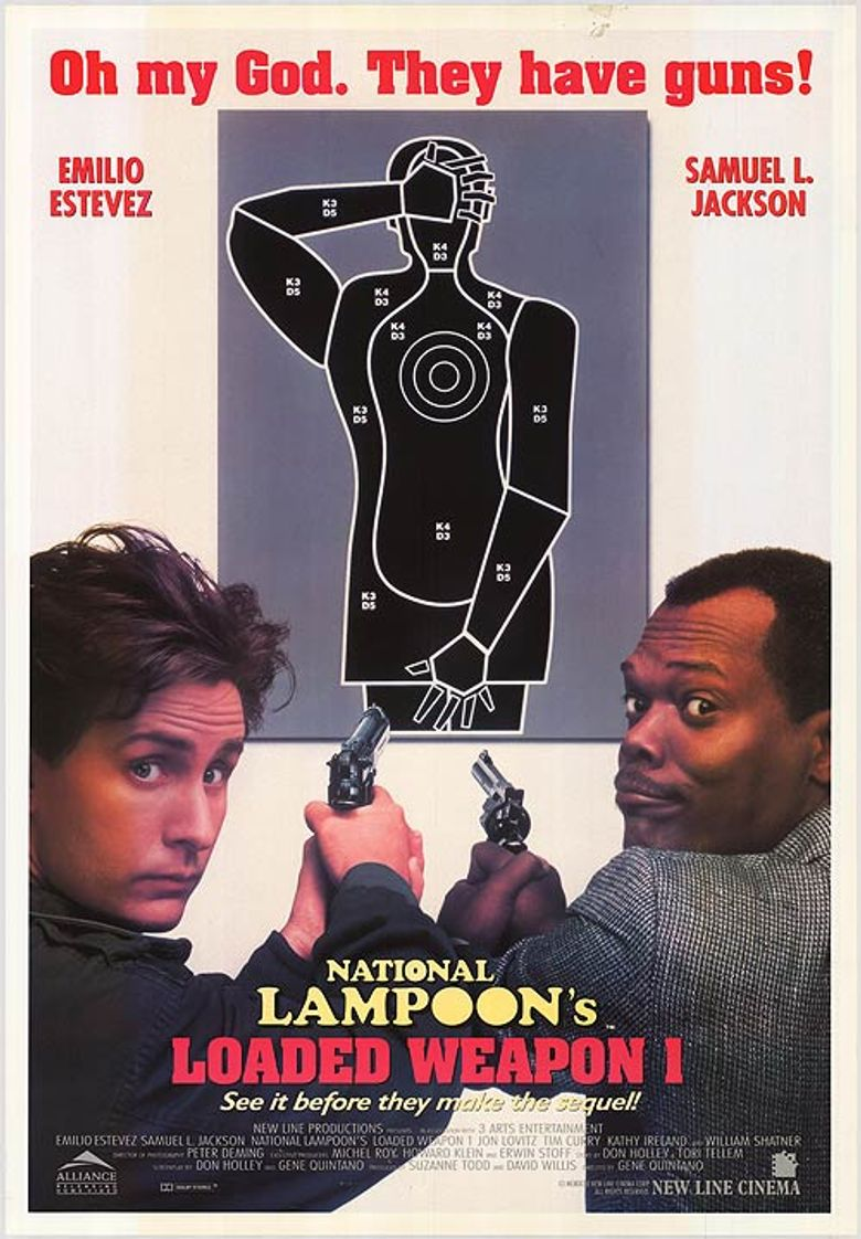 National Lampoon's Loaded Weapon 1 Poster